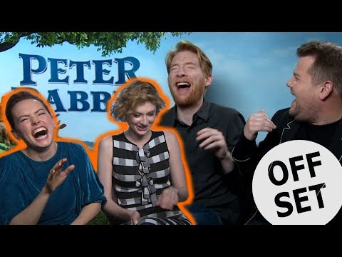'I nailed it!': Daisy Ridley, James Corden, Domhnall Gleeson and Elizabeth Debicki 'Guess The Sound'