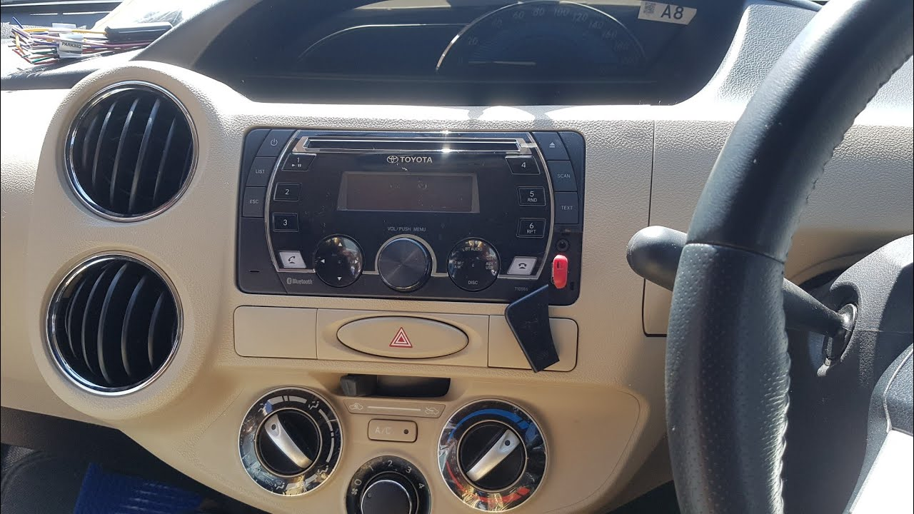 how to installation Toyota car music system wiring diagram