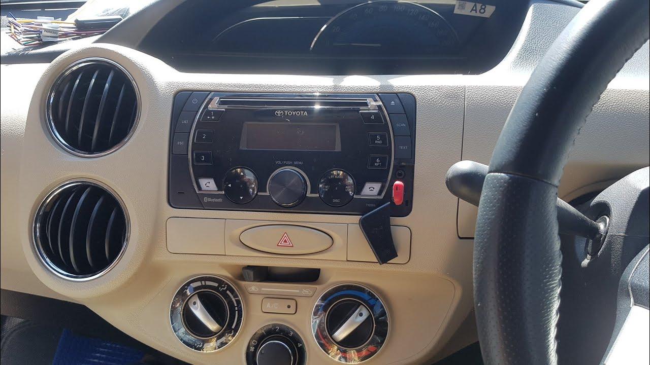 Steering Wheel Diagram 2001 Jeep Grand Cherokee Wiring How To Installation Toyota Car Music System Innova Crysta Etios