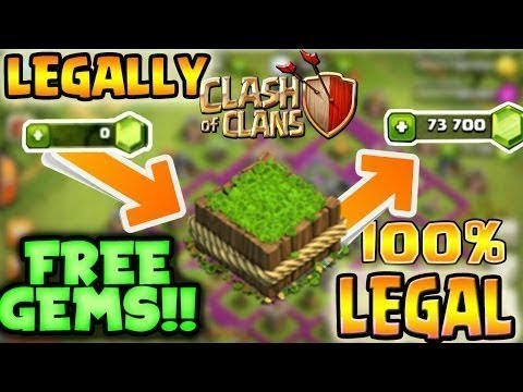 FREE 3000 GEMS LEGALLY 100% !!!!!!!!!! || How To Get Free Gems In Clash Of Clans (NOT CLICK BAIT)
