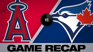 Trout's 7-RBI game leads Angels to victory | Angels-Blue Jays Game Highlights 6/19/19
