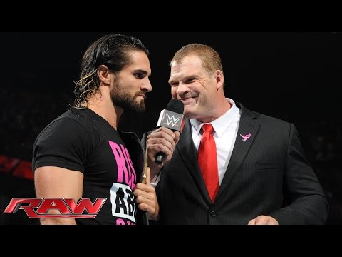 Stephanie McMahon announces Seth Rollins\' Hell in a Cell opponent: Raw, Oct. 5, 2015