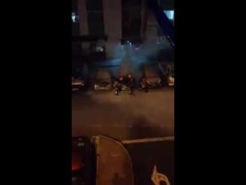 Singapore Car explosion at carpark