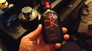 Cologne Review CK One RED