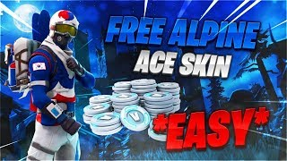 GET VOTRE KOREAN ALPINE ACE SKIN GRATUIT! FORTNITE BATTLE ROYALE!