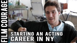 Starting An Acting Career In New York - Full Interview with Chasen Schneider
