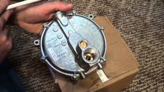 Regulator Garretson KN Beam Impco how valve works for Propane or Natural gas generator