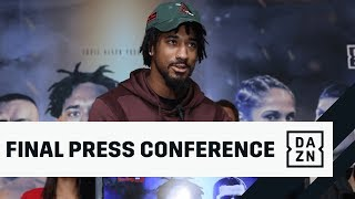 Andrade vs. Akavov Final Press Conference 🎙