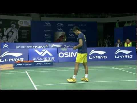 Group Day 2: Session 2 - MS - Lin Dan vs Taufik Hidayat - WSS Finals&39;11