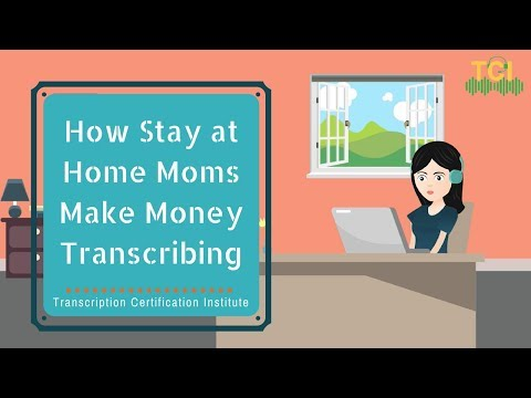 how stay at home moms make money online transcribing downline4life