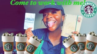 LIFE OF A TEENAGE BARISTA | COME TO WORK WITH ME | STARBUCKS EDITION