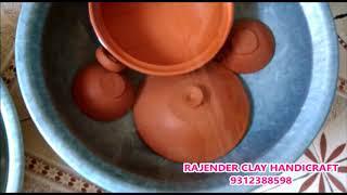 पहली बार मिट्टी के बर्तनों को कैसे इस्तेमाल करे   Seasoning clay utensils before First time use