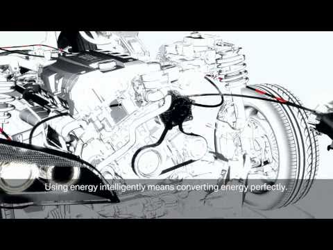 efficient dynamic brake energy regeneration by BMW