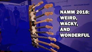 NAMM 2018 - 6 Weird, Wacky and Wonderful Things