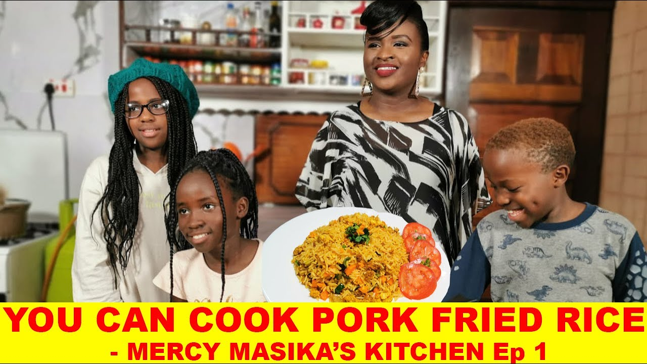 Download You Can Cook Pork Fried Rice - Mercy Masika's Kitchen ep 01