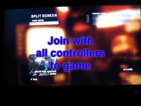 Call Of Duty Black Ops: Zombies 4-player Split-screen Tutorial