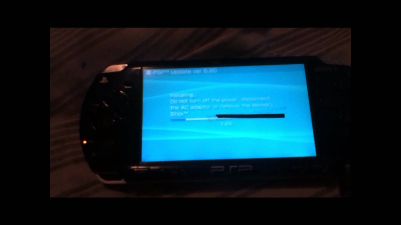 downgrade psp 6.39