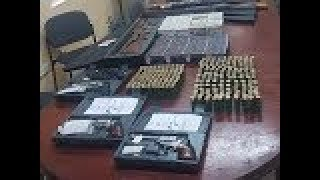 Police Recover Cache of Stolen Firearms and Ammo
