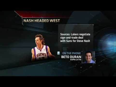 Sources: Steve Nash To The Lakers [HD]