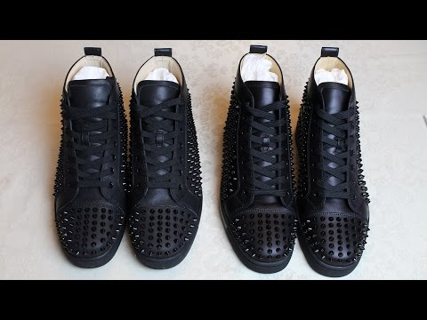 Real vs Fake Guide: Christian Louboutin Louis Flat Calf Spikes | Authentic vs Replica Louboutin