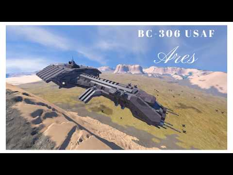 Space Engineers BC-306 USAF Ares