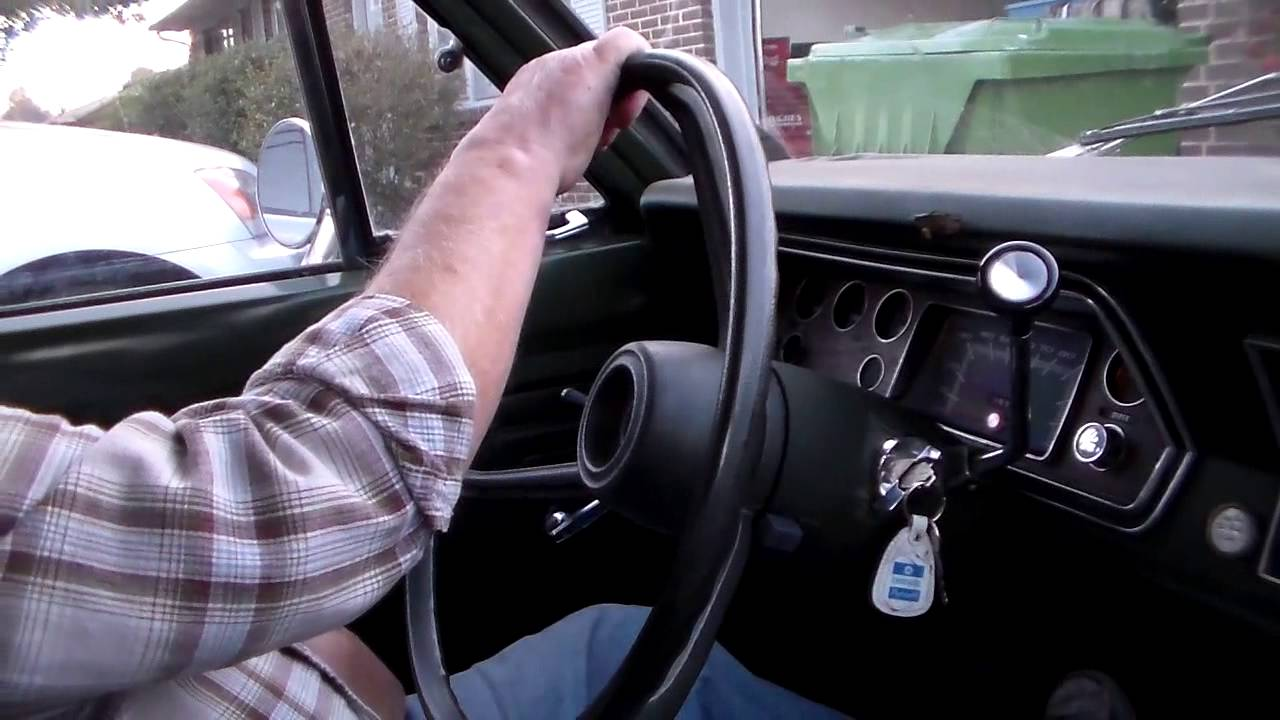 Uncle Phil Drives The 73 Three On The Tree Valiant Youtube