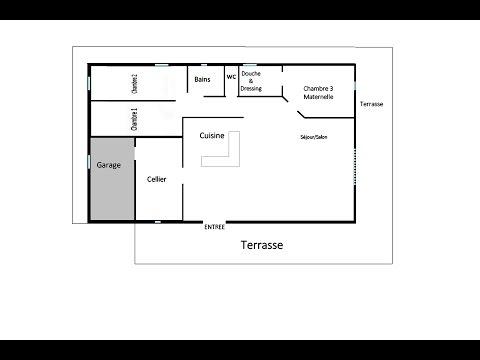 Comment recr er sa maison avec un logiciel windows doovi for Comment concevoir un plan de maison