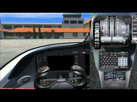 FSX Flight1 Cessna Citation Mustang Test Flight