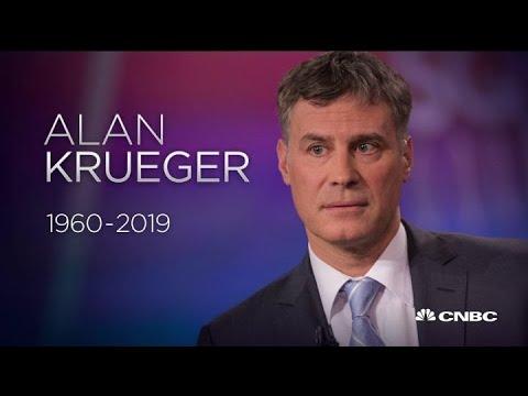 Princeton Economist Alan Krueger, Ex-Obama Adviser, Dies at 58
