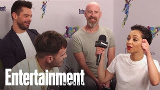Preacher: Dominic Cooper On Filming A Harsh Scene That Was Cut | SDCC 2018 | Entertainment Weekly