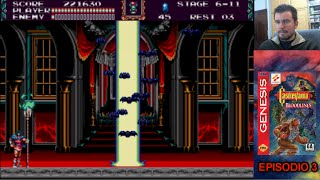 CASTLEVANIA BLOODLINES (Megadrive / Genesis) - Episodio 3 - FINAL || Gameplay en Español