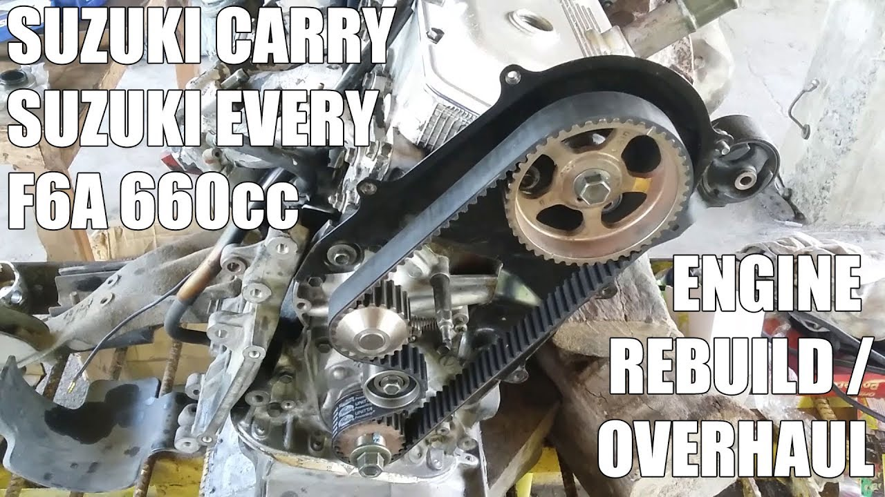 small resolution of suzuki carry every scrum f6a engine rebuild