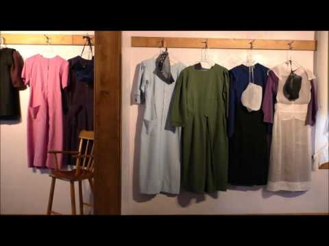 Inside Amish Homestead & Schoolroom
