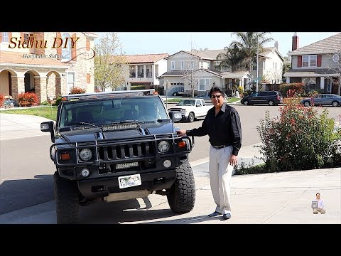 How To Replace | Change HUMMER Front Brake Pads | Rear Brake Pads on HUMMER H2 SUT Yourself