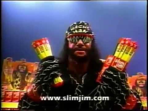 Slim Jim Ad With Macho Man Randy Savage