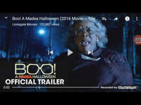 Boo! A Madea Halloween Official Trailer ( Reaction)