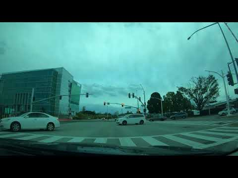 Time-lapse Drive: Wednesday, March 21, 2018 San Jose, Sunnyvale, Menlo Park