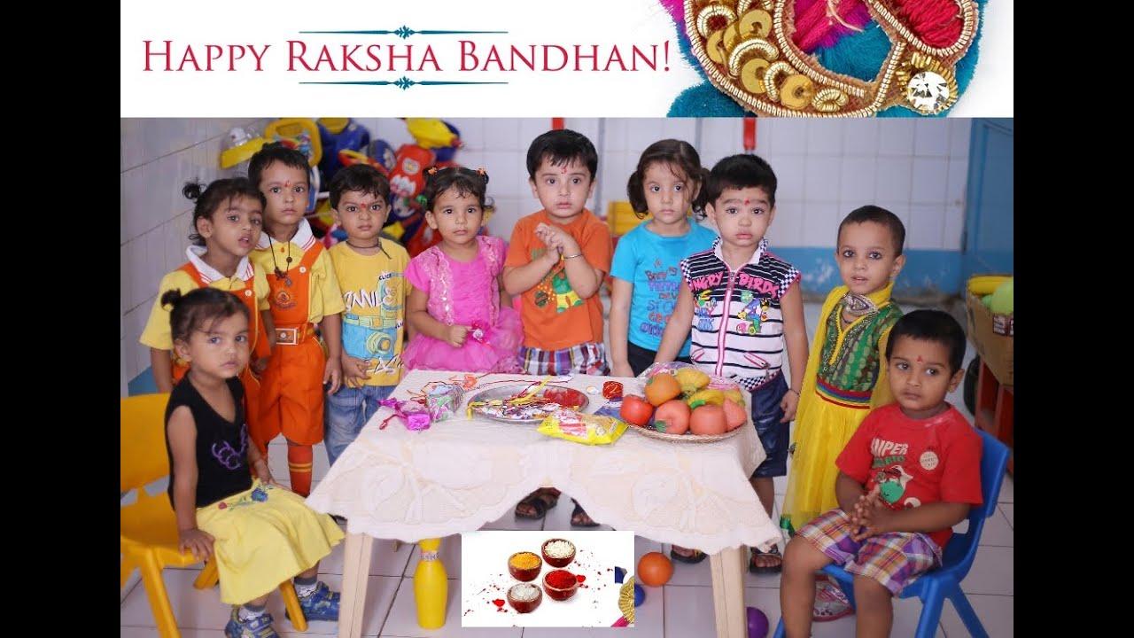 SURYA PLAY WAY SCHOOL (RAKSHA BANDHAN-2014)