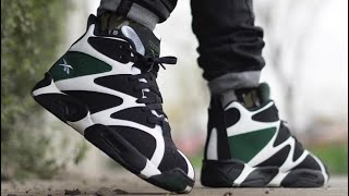 Reebok Classics Kamikaze 1 Mid Kemp Sonics Sneaker Review + On Feet With @DjDelz +