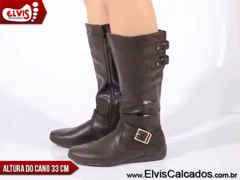 e17907b5f Bota Rasteira Mooncity 70404 Marrom - YouTube