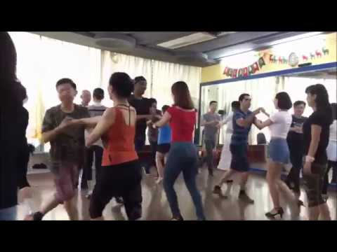 Salsa en China/Mike Nice/ Shanghai 上海沙沙课/麦克老师