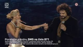 Dara Rolins & Marian Cekovsky -  Love Song (Srdce Pre Deti 2012)