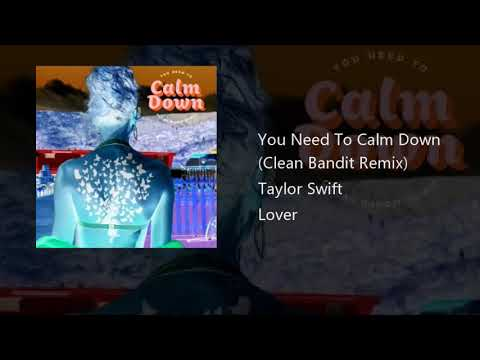 Taylor Swift You Need To Calm Down (Clean Bandit Remix)