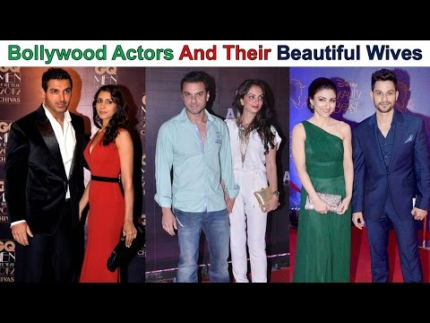 Bollywood Actors And Their Beautiful Wives
