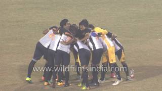 Repeat youtube video Football fever in India: Tamchon trophy final match first half MCF : HRBF 13
