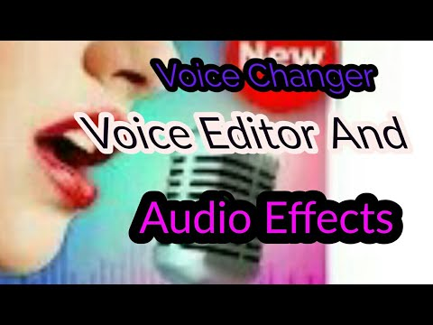 Voice changer mobile app download, voice changer Hindi, change your voice