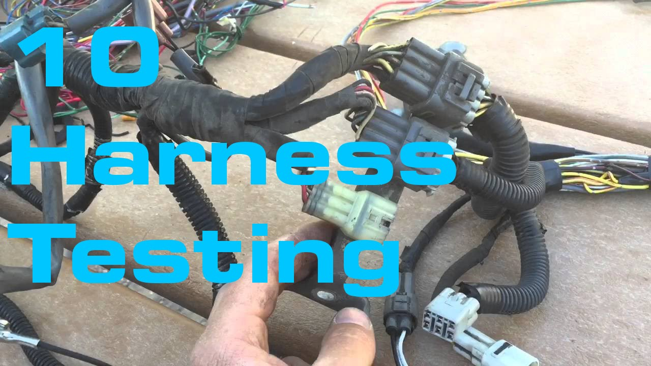 small resolution of harness testing wiring harness series youtube