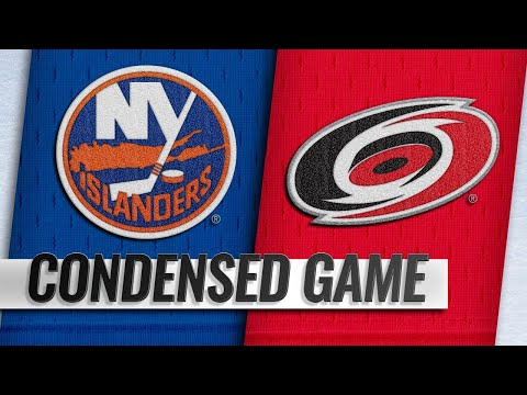 10/28/18 Condensed Game: Islanders @ Hurricanes