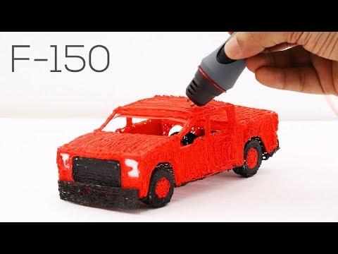 3D Pen |  Making Car | 3D Printing Pen Creations