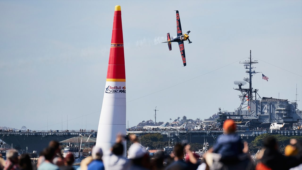 Red Bull Air Race San Diego 2017 Race Day Action Youtube